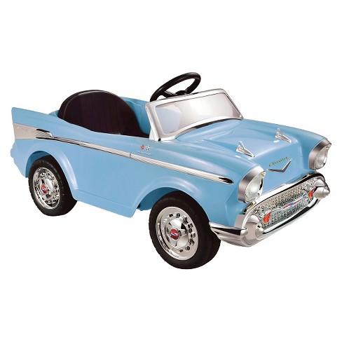 Kid Motorz 12V Chevrolet Bel Air Powered Ride-On - Blue - image 1 of 4