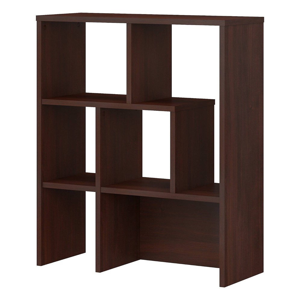 Image of Centura Bookcase Hutch Century Walnut - Kathy Ireland Office