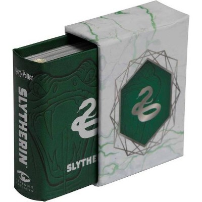 Harry Potter: Slytherin (Tiny Book) - by  Insight Editions (Hardcover)