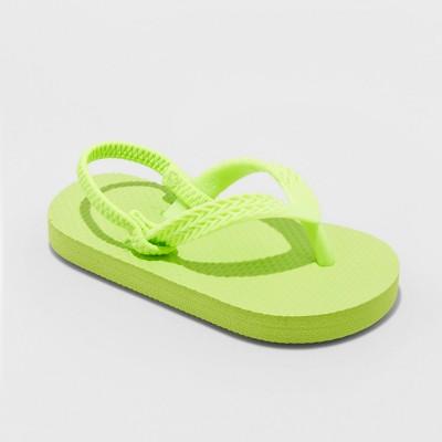 Toddler Girls' Keira Flip Flops Sandals - Cat & Jack™ Green S