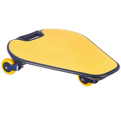 HearthSong One2Go Wiggleboard Wide-Base 3-Wheel Balance Board for Beginners