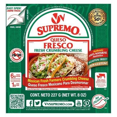 V&V Supremo Queso Fresco Cheese - 8oz