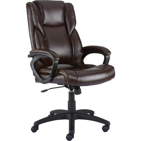 Staples Kelburne Luxura Office Chair Brown 50870 Target