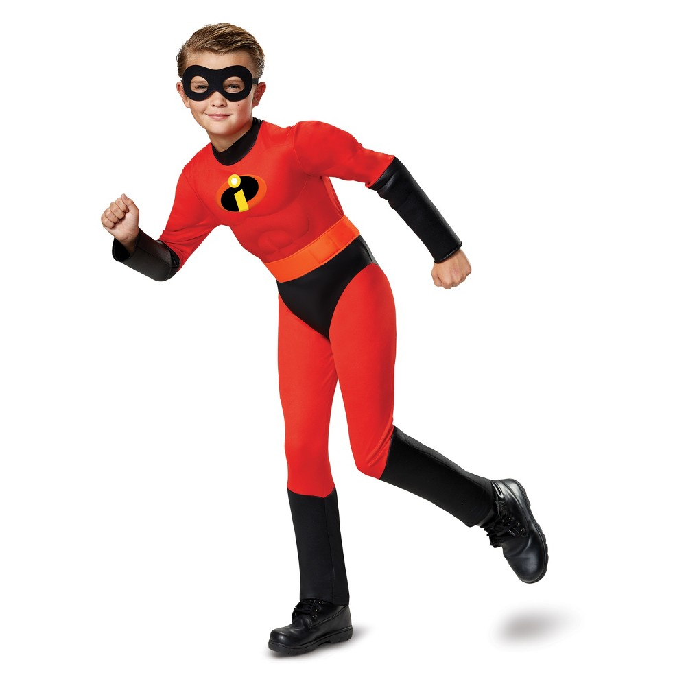 Best Price Toddler The Incredibles Dash Parr Classic Muscle Halloween Costume 2T Toddler Boy Multicolored