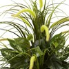 """36"""" x 26"""" Artificial Mixed and Cattails in Planter - Nearly Natural - image 2 of 3"""