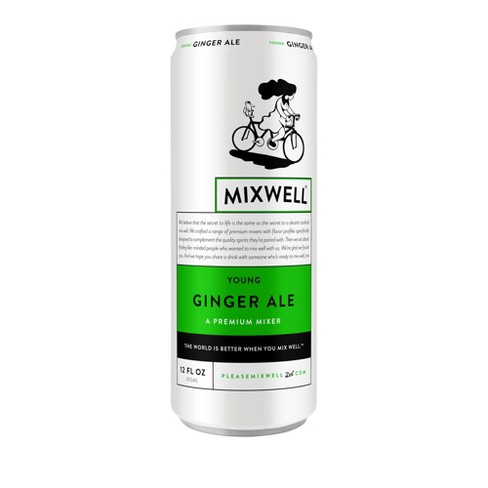 Mixwell Young Ginger Ale - 12 fl oz Can - image 1 of 3