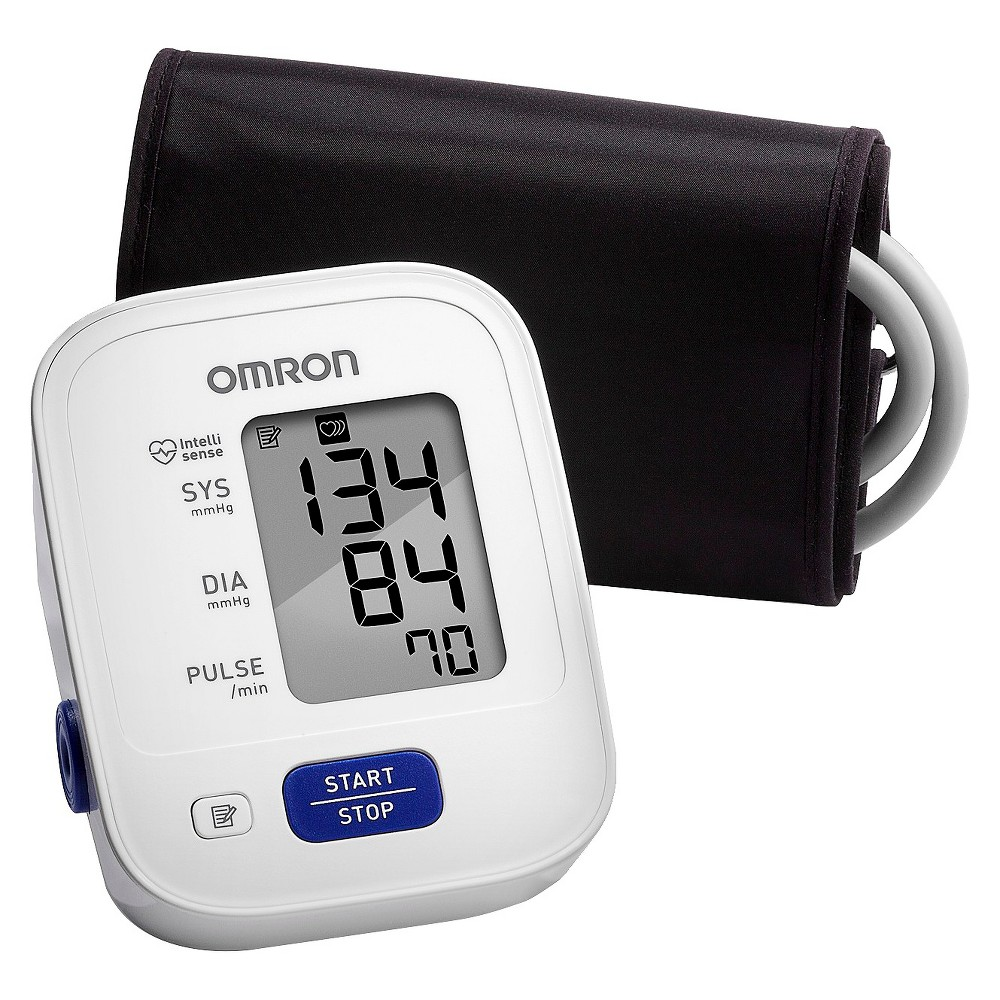 Omron 3 Series Upper Arm Blood Pressure Monitor with Cuff - Fits...
