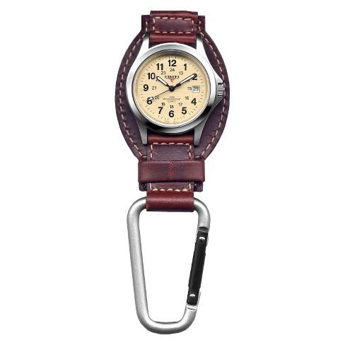 Men's Dakota Leather Clip Watch - image 1 of 1