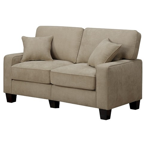 "Serta® RTA Palisades Collection 61"" Loveseat in Silica Sand, CR45011B - image 1 of 8"