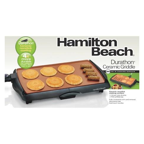 hamilton beach durathon ceramic griddle 38518 target