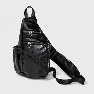 Zip Closure Sling Backpack - JoyLab™ Black