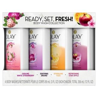 Olay Fresh Outlast Body Wash Sampler Pack - 12 fl oz