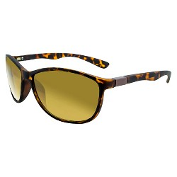 Women's Square Tort Sunglasses - A New Day™ Brown