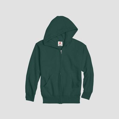 Hanes Kids' Comfort Blend Eco Smart Full-Zip Hoodie Sweatshirt