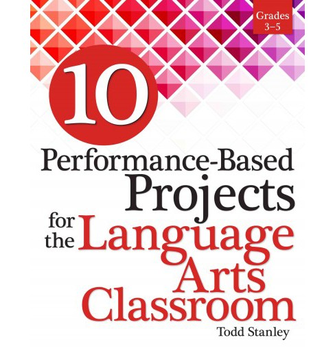 10 Performance-Based Projects for the Language Arts Classroom Grades 3-5 (Paperback) (Todd Stanley) - image 1 of 1