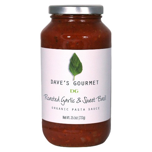 Dave's Gourmet Roasted Garlic & Sweet Thai Basil Sauce 25.5 oz - image 1 of 1