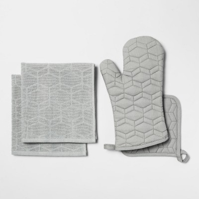 Gray Kitchen Textile Set - Room Essentials™