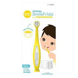 Fridababy SmileFrida™ ToothHugger Yellow baby toddler Toothbrush Single triple a