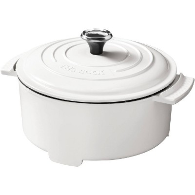 The Rock by Starfrit 3.2qt Electric Casserole - White