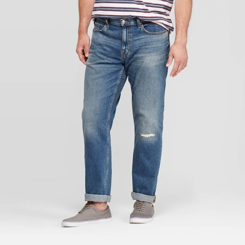 Men's Tall Athletic Fit Relaxed Jeans - Goodfellow & Co™ - image 1 of 3