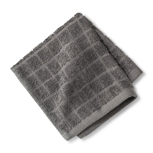 Textured Grid Bath Towels and Washcloths - Room Essentials™ - image 1 of 1