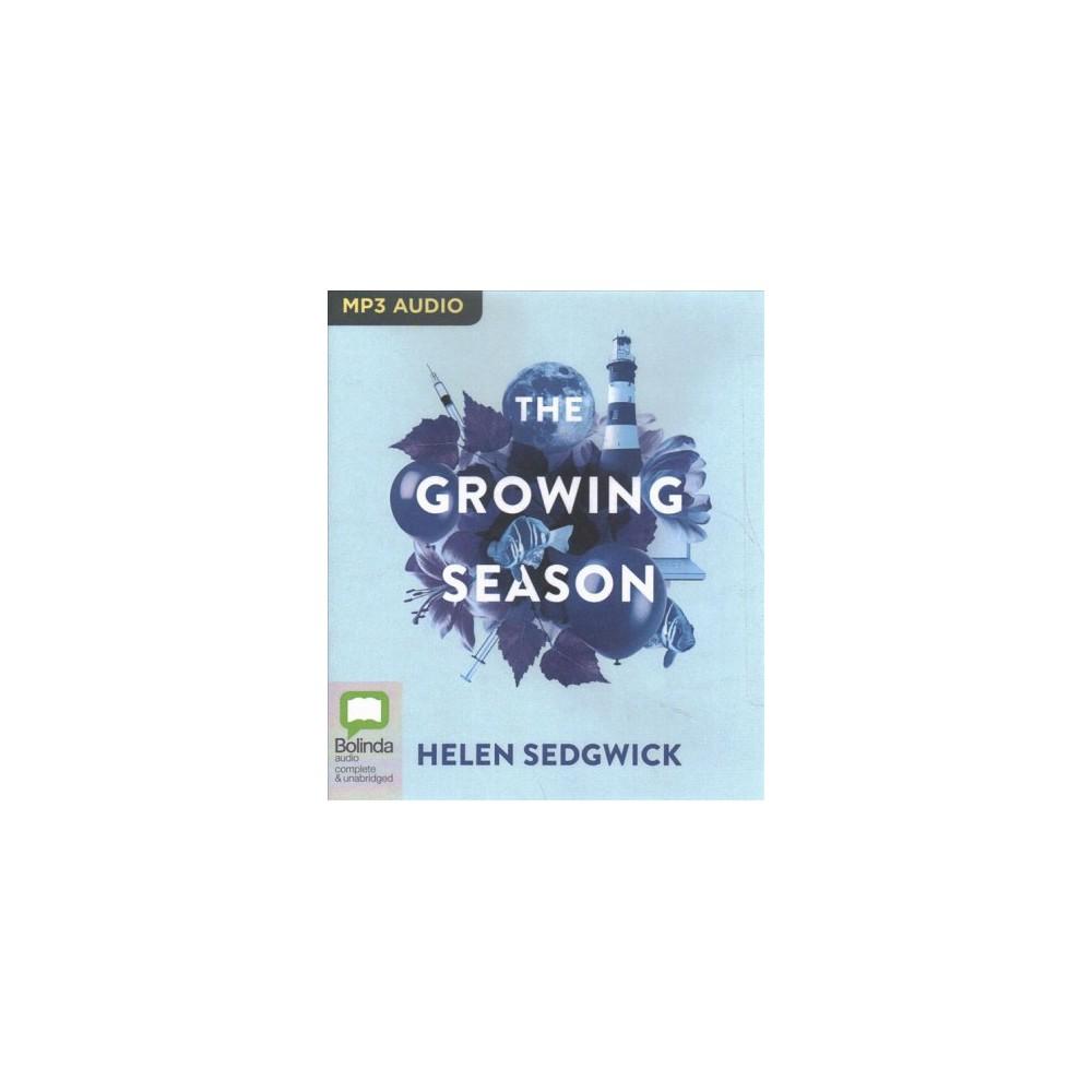 Growing Season - by Helen Sedgwick (MP3-CD)