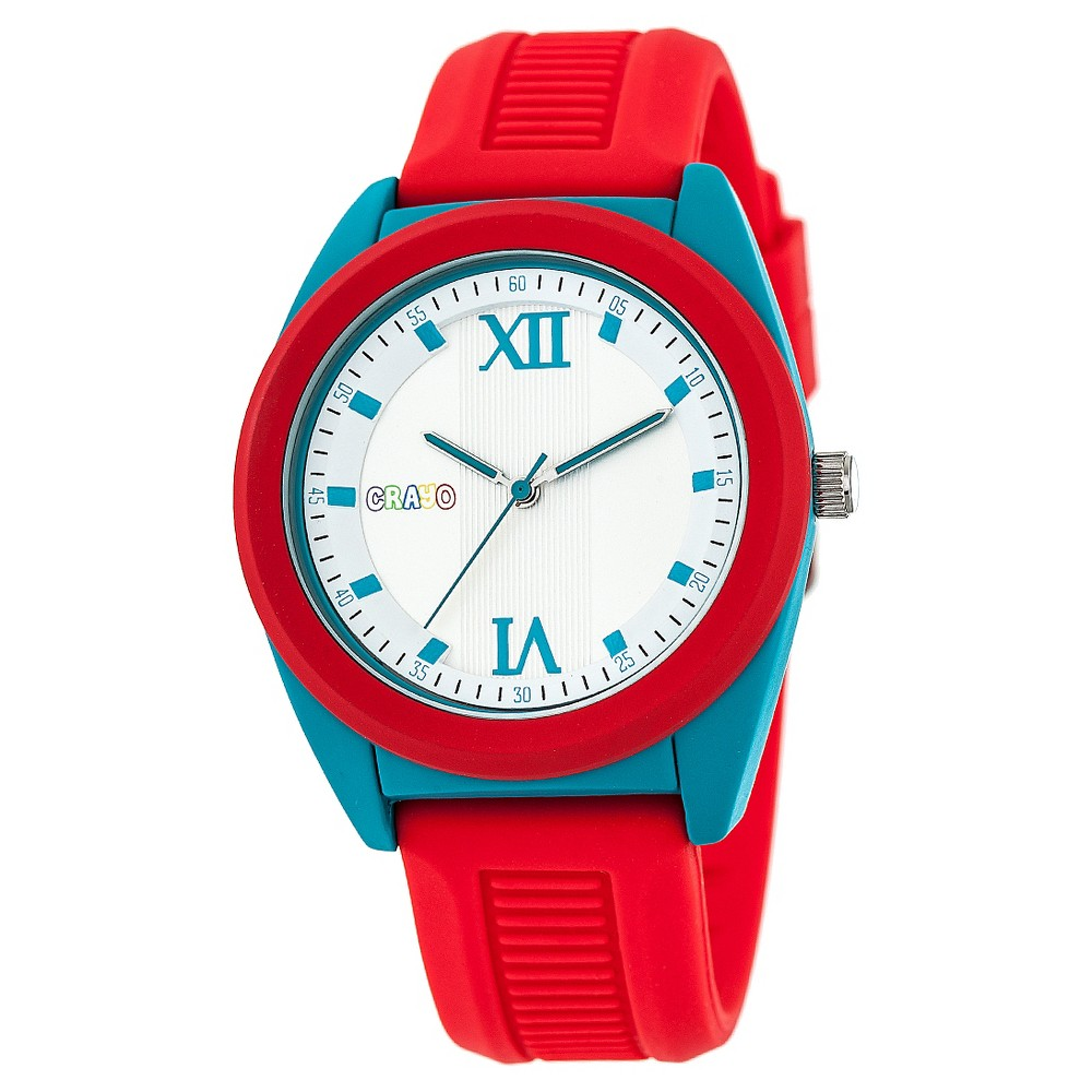 Crayo Praise Ladies Quartz Strap watch - Red