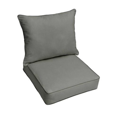 Sunbrella Canvas Outdoor Seat Cushion