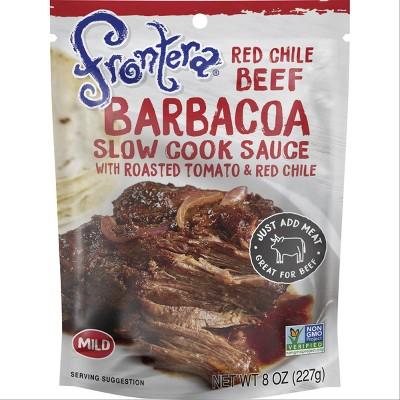 Frontera Red Chile Barbacoa Seasoning Sauce 8oz