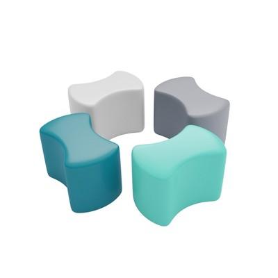 SoftZone®Toddler Modular Stool Set 4-Piece