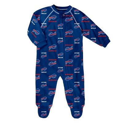 NFL Buffalo Bills Baby Boys' Blanket Sleeper - 6-9M