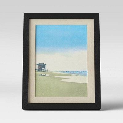 "5"" x 7"" Frame Black and Natural - Room Essentials™"