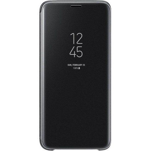 new product 9879e 7c2ab Samsung Galaxy S9 S-View Flip Cover Case - Black