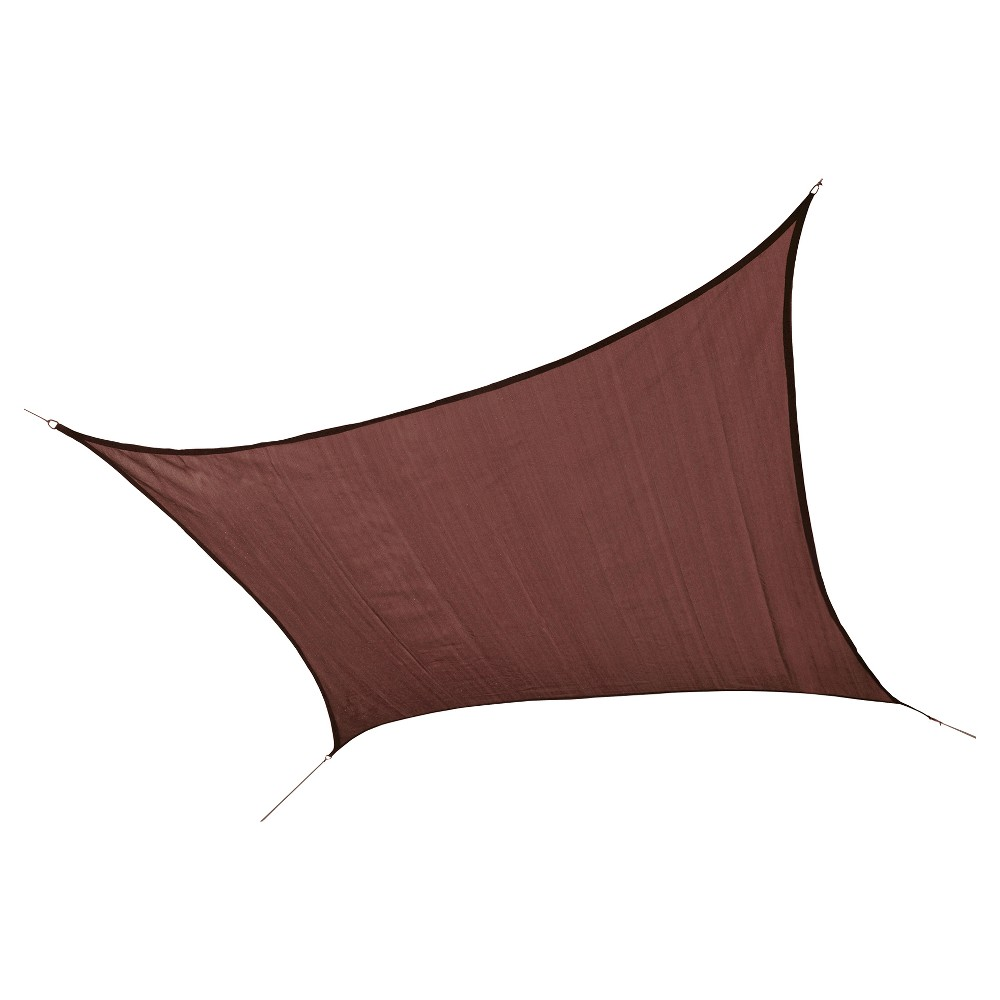 Shelter Logic Square Sun Shade Sail - Red 12' 230 gsm