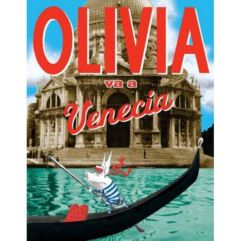 Olivia Va A Venecia - by  Jan Falconer (Hardcover) - image 1 of 1