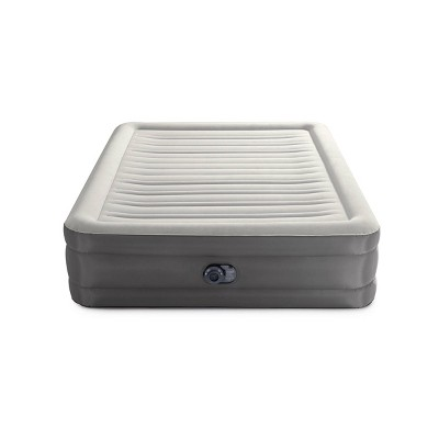 "Intex Raised TruAire 18"" Queen Air Mattress with Internal 120V Pump"