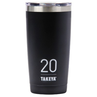 Takeya Originals 20oz Insulated Stainless Steel Tumbler with Sip Lid - Black