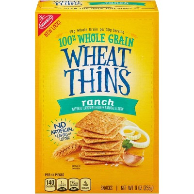Wheat Thins Ranch Snack Crackers - 9oz
