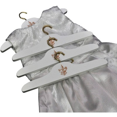 The Queen's Treasures Set of 8 Wooden 18 Inch Doll Clothes Hangers