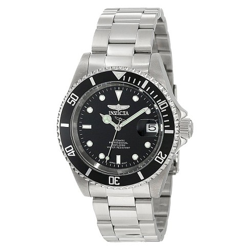 Invicta Men's Stainless Steel 'Pro Diver' Quartz Watch - Silver (IN-8926OB) - image 1 of 2
