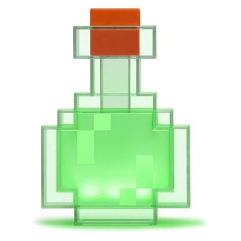 ThinkGeek- Minecraft Color Changing Potion Bottle - image 1 of 2