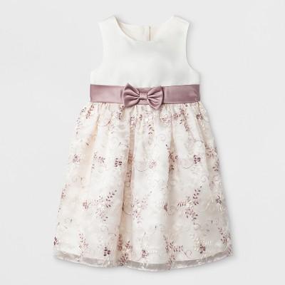 Baby Girls' A-Line Dress - Mia & Mimi Gold 3-6M