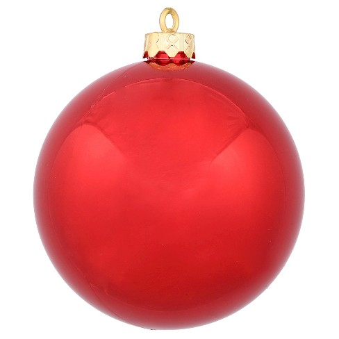 About this item - 32ct Red Shiny Ball Shatterproof Christmas Ornament : Target