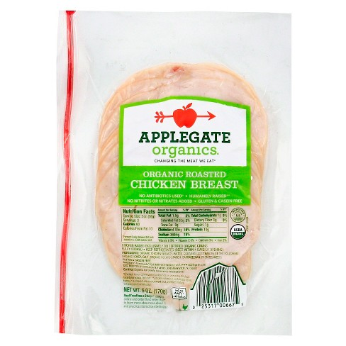Applegate Organic Roasted Chicken Breast -6oz - image 1 of 1