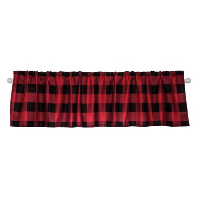 Trend Lab Valence And Curtain Set - Red