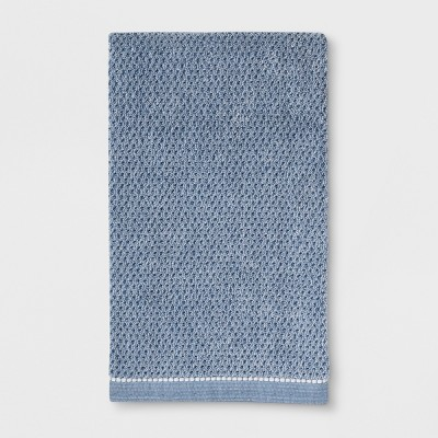 Solid Bath Towels Blue - Threshold™