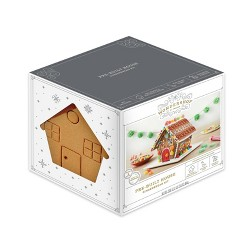 Holiday Gingerbread Pre-Built House - 29.8oz - Wondershop™