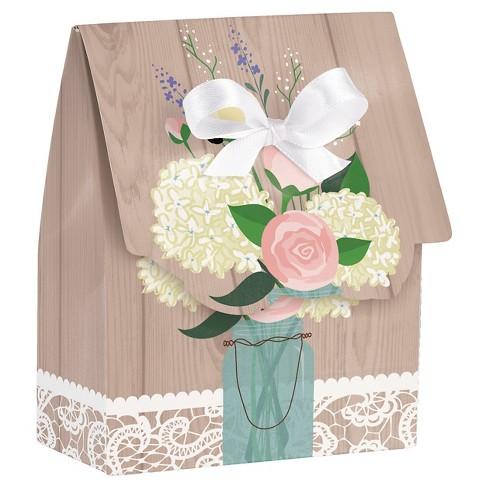 Rustic Wedding Favor Bags 12 Pk