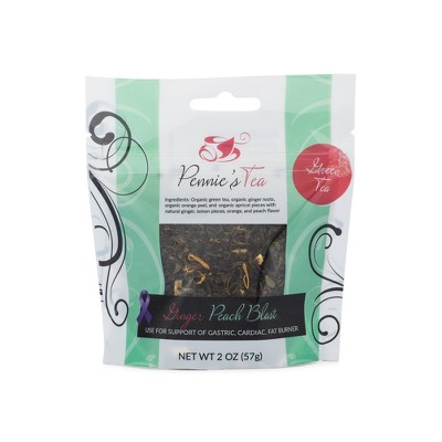 Pennie's Tea Ginger Peach Blast Loose Leaf Tea - 2oz