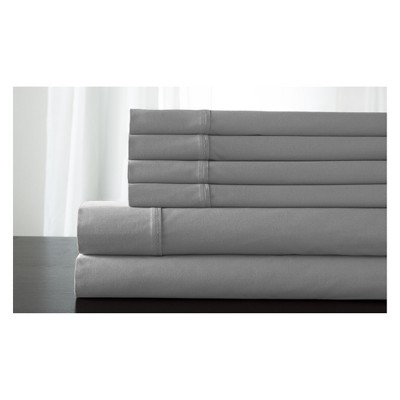 Kerrington Cotton 800 Thread Count Sheet Set (Queen)Gray - Elite Home Products